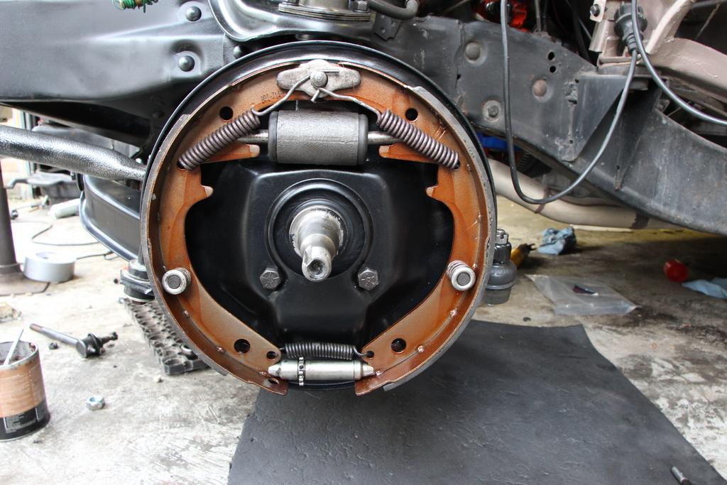 Brake Lining Thickness Minimum : Minimum drum brake lining thickness page trifive